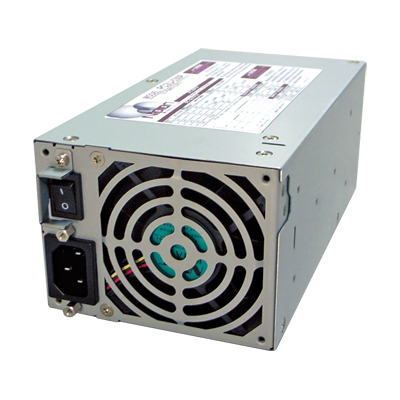 ATX power supply installable to 2U- rack server
