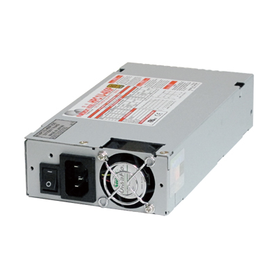 80PLUS & ErP Directive Compliant. Low Power Consumption and High Efficiency 1U Size Power Supply!