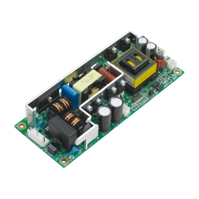 Switching power supply with minimized noise and heat (12V output with optional connector)